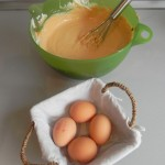 Añadimos los huevos
