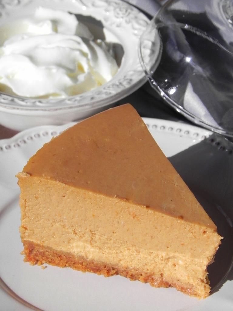 Cheescake de calabaza (Pumpkin Cheescake)