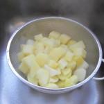 Escurrimos las patatas