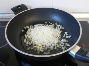 Pochamos la cebolla
