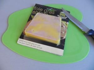 Cortamos el foie gras