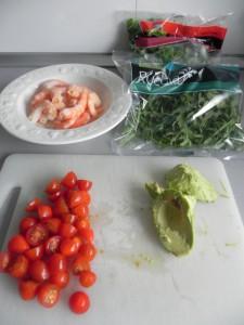 Montamos las ensaladas