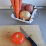 Preparamos las verduras