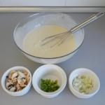 Añadimos los chapis, el pimiento y la cebolla