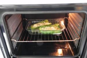 Los metemos al horno apra que cuaje un poco