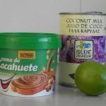 Ingredientes salsa de cacahuete