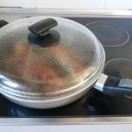 Tapamos y dejamos cocer durante 15 minutos máximo a temperatura media (6)