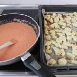 Añadimos el pollo a la salsa