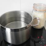 Preparamos arroz blanco