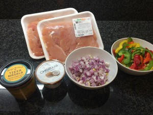 "Ingredientes ""Easy"" Chiken Tikka Masala"