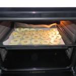 Las metemos al horno precalentado a 110º durante uina hora y media aprox. (hay que darles la vuelta a la mitad)