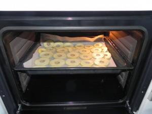 Las metemos al horno precalentado a 130º durante uina hora y media aprox.