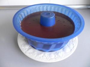 Pasados los úlrimos 30 minutos, sacamos la tarta de la nevera