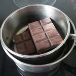 Derretimos el chocolate