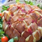 Hogaza de pan de fiesta