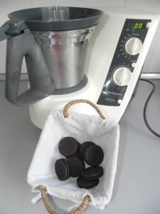 Añadimos las galletas