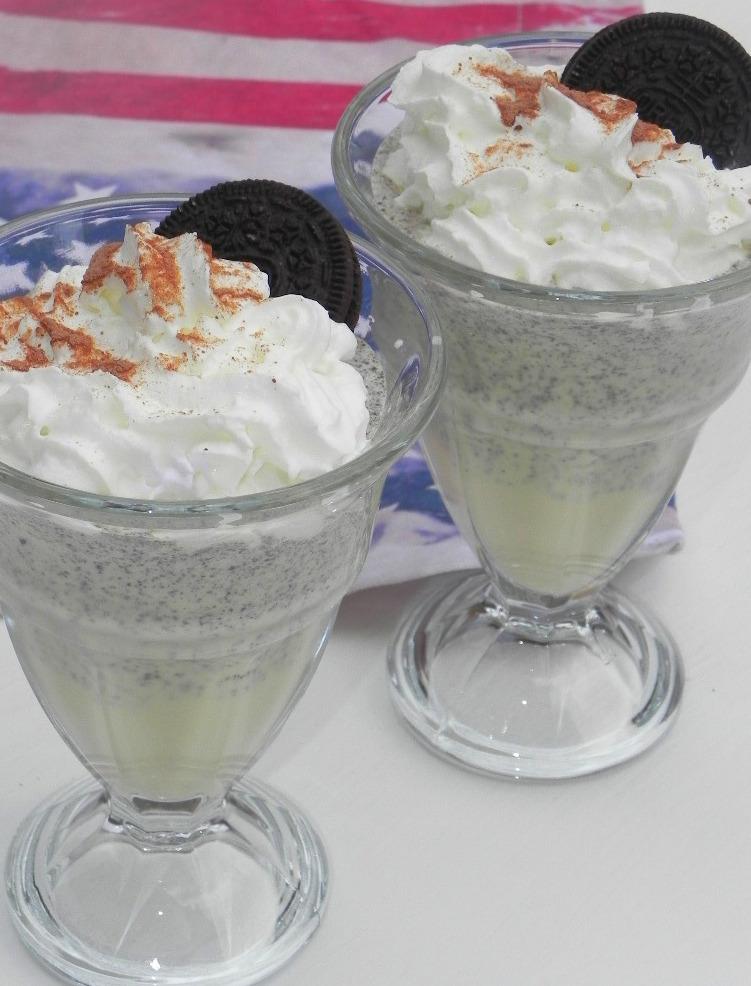 Batido de Oreo (Oreo milkshake)