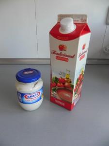 "Ingredientes Gazpacho ""enriquecido"""