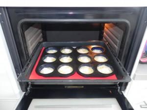 Metemos al horno hasta que se doren a 180ºC (20 min. aprox)