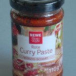 Pasta de curry rojo