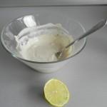 Añadimos un choriito de lima o limón