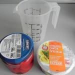 Ingredientes salsa fácil de piquillos