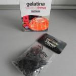 Ingredientes para la gelatina con sorpresa