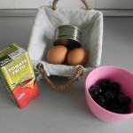 Ingredientes huevos rellenos de Halloween