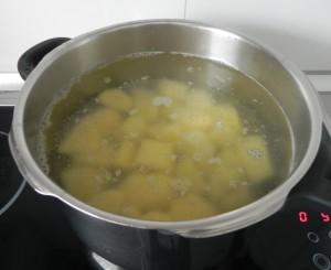 Cocemos las patatas