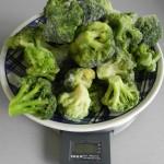 Pesamos el brócoli
