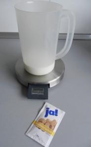 Añadimos el azúcar avainillado