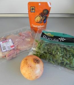 Ingredientes Ensalada de Invierno