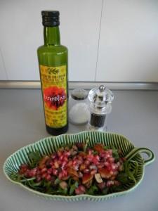 Aliñamos con buen aceite, sal y pimienta