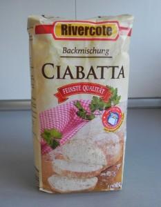 Premezcla de pan de chapata