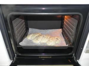 La metemos al horno durante unos 25 min aprox. a 220º
