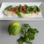 Añadimos cilantro fresco y un buen chorro de zumo de lima