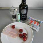 Ingredientes Mini ensalada caprese original (plato light)