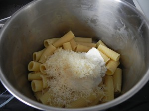 Y a continuación el parmesano