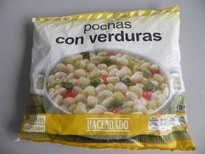 Pochas con verduras