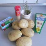 Ingredientes Montañitas de Patata (guarnición)