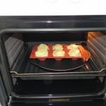 Lo metemos al horno a 180º durante 1 hora aprox.