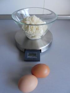 Las dos yemas de huevo