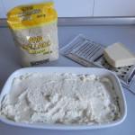 Añadimos por encima de la última capa pan rallado y parmesano rallado