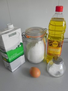 Ingredientes crêpes