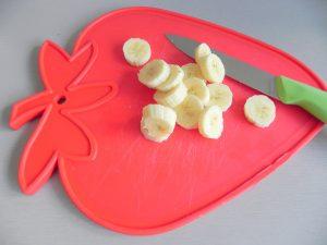 Cortamos el plátano