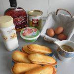 Ingredientes tiramisú