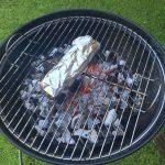 Lo asamos en la barbacoa hasta que el pimiento está blando