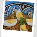Ensalada de lentejas (con verduritas en vinagre)