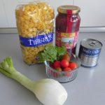 Ingredientes Ensalada de pasta mexicana