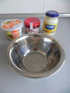 Preparamos la salsa